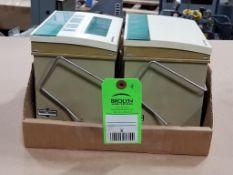 Qty 2 - Honeywell XI581-AH XL500 Terminal Display Operator Interface Panel.
