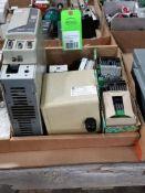 Assorted electrical. Allen Bradley, Phoenix Contact.