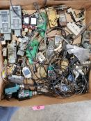 Assorted electrical switches, limit and toggle. Allen Bradley, Microswitch, Cutler-Hammer.