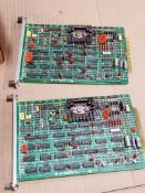 Qty 2 - Electrical boards. Reliance Electric. 0-52876-1.
