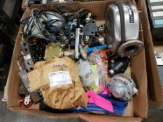 Assorted replacement parts. Cincinnati Lamb.