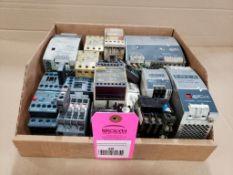 Assorted electrical. Power supply, relay, contactor. Sola, IDEC, Sprecher+Schuh, ABB, Siemens.