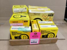Assorted parker cylinder replacement parts. New in box.