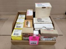Assorted replacement parts. Carrier, Power-One, ALCO.