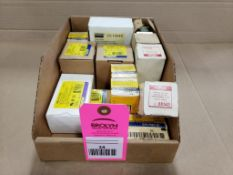 Assorted replacement parts. Square-D, Dayton. New in box.