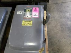 Square-D A81344 200AMP disconnect switch.