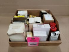 Assorted electrical. GE, Allen Bradley, Square-D. New in box.