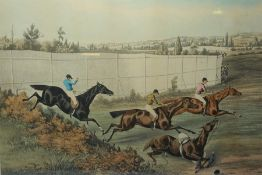 After Alken, Three Titled Hunting Prints, 40cm high, 57cm wide, (3)