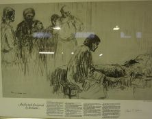 "Albert J Forbes ""The Raising of the Jairus Daughter"" Signed Print, Signed in Pencil, 35cm x 55cm"