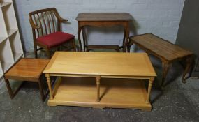 Mixed Lot of Occasional Furniture, (5)