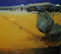 "Julianne John ""Landscape"" Signed Print, Signed in Pencil, 68cm x 78cm"