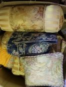 Box of Throws and Cushions