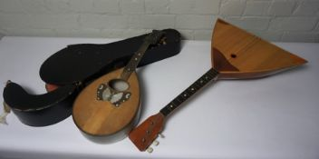 Mandolin, With a similar Instrument, (2)