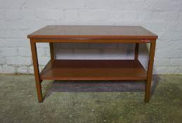 Office Side Table, 46cm high, 77cm wide, 46cm deep