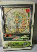Pinball Machine by Heiwa, 84cm high, 54cm wide