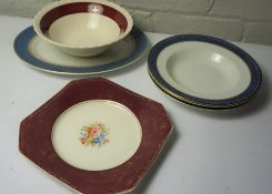 Box of Assorted Pottery Dinnerwares