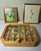 Two Boxes of Assorted Cat Ornaments and Collectables