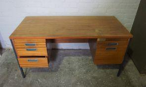 Office Desk, 72cm high, 152cm wide, 75cm deep