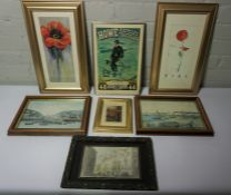 Lot of Modern Prints and Pictures, (14)