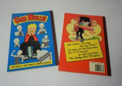 Two Oor Wullie Annuals, Years 1986 and 1994, (2)
