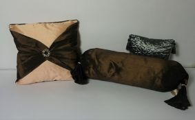 Box of Bedding and Cushions