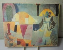 Five Modern Pictures and Prints, (5)