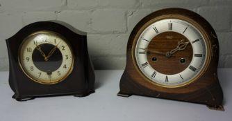 Two Smiths Enfield Mantel Clocks, (2)