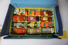 Collection of Toy Cars, To include examples by Matchbox and Corgi Juniors, Approximately 20 in total
