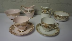 Part Noritake and Part Plant Tuscan China Tea Sets, 2 Boxes