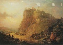 "After Alexander Nasmyth ""Edinburgh Castle"" Print, 44cm x 64.5cm"