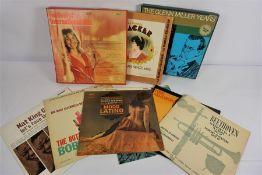 Box of Assorted Classical Vinyl LP Records