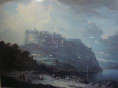 "After Alexander Nasmyth ""Edinburgh Castle and the Nor Loch"" Print, 58cm x 79cm"