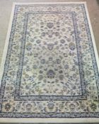 Two Persian style Machine Made Rugs, Largest 193cm x 135cm, (2)