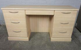 Modern Desk, 77cm high, 147cm wide, 45cm deep