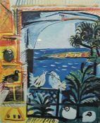 """After Picasso """"Les Pigeons"""" Print, 61.5cm x 50.5cm"""