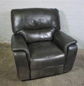Hide Reclining Armchair, 93cm high