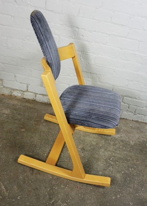 Stokke of Norway, Contemporary Rocking Chair, Having a label to the underside, 92cm high - Image 2 of 6