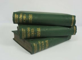 Charles Dickens Centenary Edition, Printed by Chapman & Hall Ltd London 1911, 17 volumes, In green