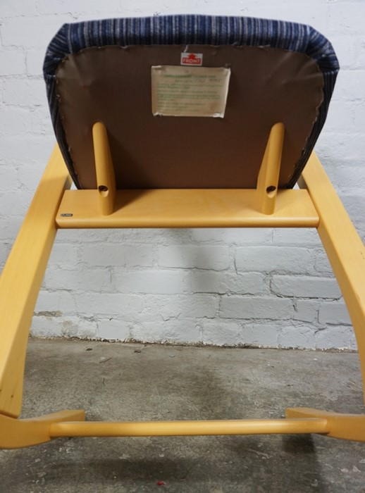 Stokke of Norway, Contemporary Rocking Chair, Having a label to the underside, 92cm high - Image 5 of 6