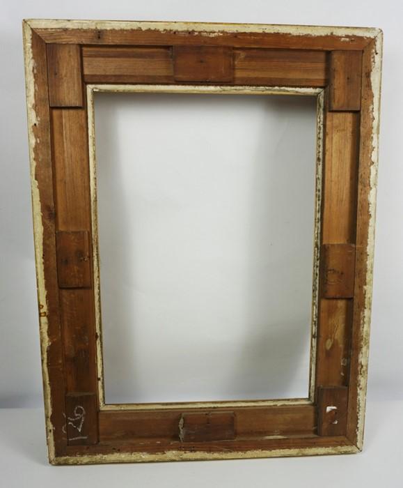 Gilt Picture Frame, circa 19th century, Internal dimensions 50cm x 35cm, External dimensions 70cm - Image 4 of 4