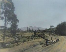 "Arthur Firmin ARPS RIBP (20th century) ""Mt Longonoy"" ""Ngong Hills"" ""Mount Kenya"" Three Signed"