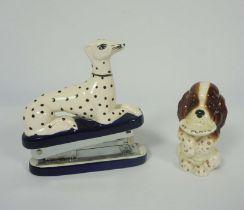 Quantity of Animal Figures, To include Beswick, Border Fine Arts, Sylvac, Staffordhire style Stapler