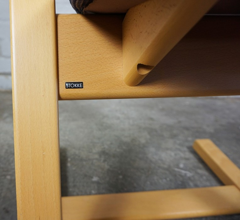Stokke of Norway, Contemporary Rocking Chair, Having a label to the underside, 92cm high - Image 6 of 6