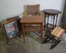 Mixed Lot of Occasional Furniture, (6)