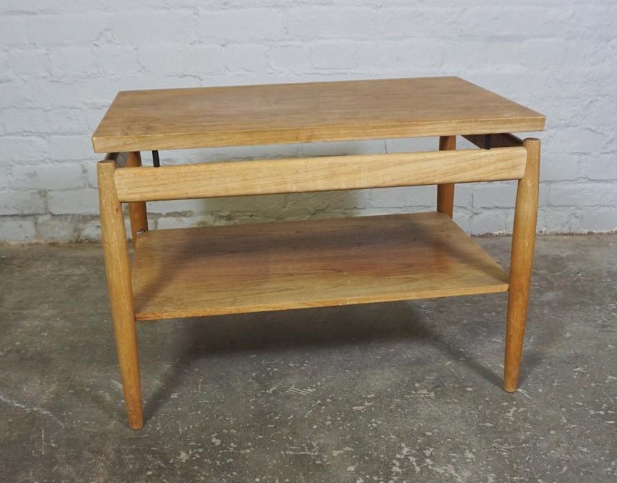 Retro Teak Table, 53cm high, 75cm wide - Image 2 of 4