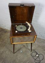 Vintage Ekco Octave Record Player, Having a Garrard Mk II Turntable, 80cm high, 50cm wide, 43cm