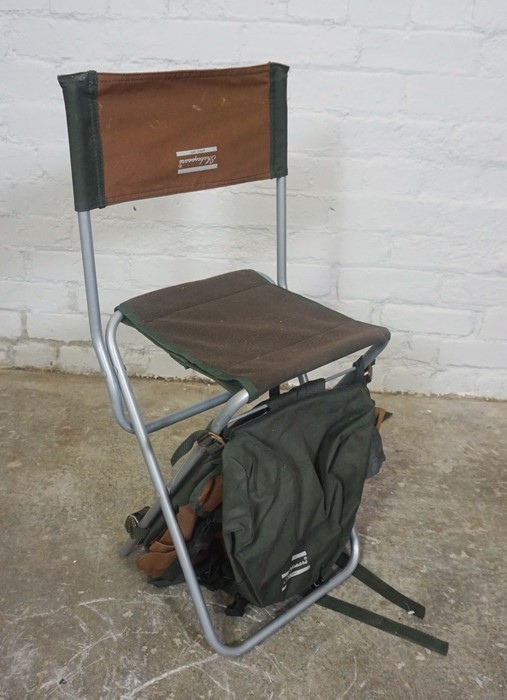 Three Folding Fishermans Chairs by Shakespeare and Airflo, Largest 81cm high, (3) - Image 5 of 5