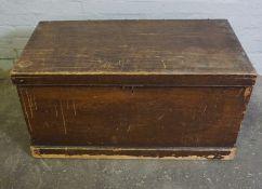 Pine Blanket Box, 50cm high, 98cm wide, 58cm deep