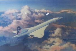 """After Timothy O,Brien """"Concorde - Simply the Best"""" Signed Limited Edition Print, No 1,604 of 1,"""