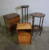 Mixed Lot of Occasional Furniture, (4)